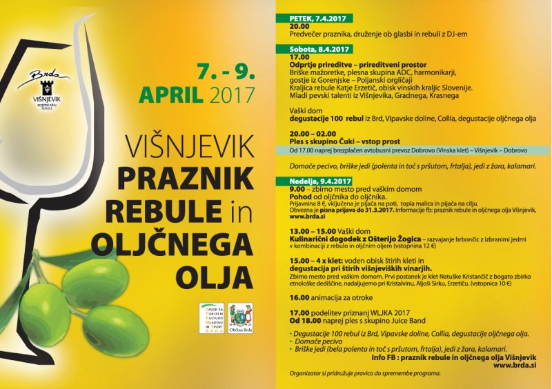Praznik rebule 2017_program